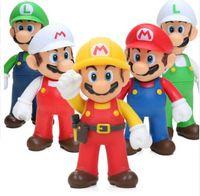 ingrosso yoshi luigi-13 design Super Mario Bros Action Figures PVC giocattoli Luigi Mario Yoshi Action PVC Figure Toy Model da collezione 12 cm KKA5885