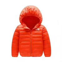 chica chaqueta de invierno parka al por mayor-Marca NF Baby Winter Chaquetas Light Kids White Duck Down Coat Baby Jacket para niñas niños Parka prendas de abrigo prendas de vestir Puffer Coat