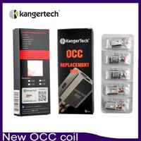 1.5ohm kanger mini bobinler toptan satış-Yeni Kanger Dikey Subtank OCC Bobin Yükseltilmiş Subtank Bobin 0.5 1.2 1.5ohm fit Kangertech Subtank Mini Nano Artı tankı DHL Ücretsiz 0266021