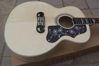 tapa de abeto de guitarra de palisandro al por mayor-Tapa armónica de encargo de madera de la naturaleza de la tienda de chino Tapas traseras de Rosewood 6 cuerdas Guitarra eléctrica acústica