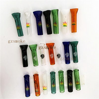 Wholesale Cut Holder - Glass Rolling tips Cigarette Filter tips High Quality 7 Colors Cigarette Holder Fillter Accessories Cut-Price Pipe Smoke Tool