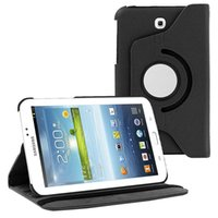 Wholesale galaxy tab3 leather case for sale - Group buy 360 Rotation Flip Holder Case For Samsung Tab quot SM T210 P3200 Cover for Galaxy Tab3 inch T210 Protective Cover
