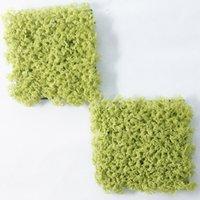 ingrosso arrangiamenti artificiali artificiali-Pianta artificiale muschio quadrato pianta verde composizione floreale finta aria erba imitazione muschio erba decorazioni ghirlande cornici holloween flores