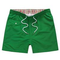 bermuda de alto e cintura de verão venda por atacado-Nova marca Shorts de Cintura Alta Homens Verão Moda Board shorts shorts homme