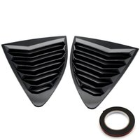Wholesale Carbon Fiber Rear Quarter Window Louver ABS Fit For Scion FRS Subaru BRZ