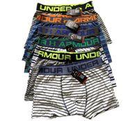 Wholesale tight underwear hot online - Men Brand UA Underwear Fashion Under Boxers Breathable Cotton Underpants Letter Print Shorts Mens Cuecas Armor Tight Waistband Underpant Hot