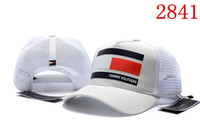 Wholesale winter visor hats - HOT top grade curved visor baseball caps for men women adjustbal gorras golf hats net snapback cap luxury hats brand hat snapbacks