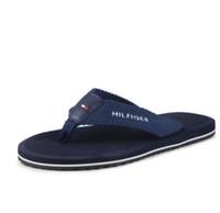 Wholesale Canvas Beach Shoes For Men - 2018 summer men's leisure wear flip-flops with canvas flip-flops for the four seasons beach wear and anti-skid men's shoes.