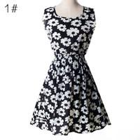 vestidos de verão casual china venda por atacado-Mais recente moda feminina casual mangas dress plus size barato china dress mulheres clothing moda summer dress frete grátis