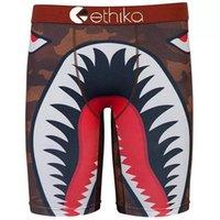 homens underwear esportes boxer shorts venda por atacado-Frete grátis New Ethika Tubarão Boca Homens Boxer Underwear Cool Sports Calças Curtas EUA Tamanho S M L XL