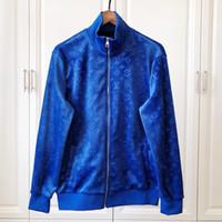 invierno vellón para hombre al por mayor-2018 otoño e invierno nuevo diseñador para hombre de lujo chaqueta de lana sudaderas con capucha tops alta calidad bomber jacket hombres envío gratis