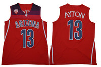 Wholesale men s basketball 13 for sale - 2018 New Mens Arizona Wildcats DeAndre Ayton Basketball Jerseys Sitched DeAndre Ayton Arizona Wildcats Jersey