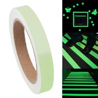 Wholesale 1PC Sizes Luminous Tape Waterproof Self adhesive Glow In The Dark Safety Stage Home Stage Decorations