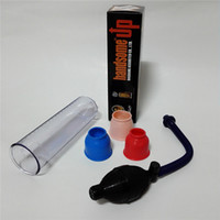 agrandamiento de la bomba del pene masculino al por mayor-Nueva Masturbación masculina Bomba de pene Handsome UP Ampliación de pene Bomba de vacío Extensor de pene Enlarger herramientas juguete sexual para hombres