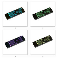 Wholesale wireless keyboards colors online - 2 GHz MX3 Fly Air Mouse Laser Keyboards Qwerty Wireless Remote Controller for Android TV Box RGB colors backlight keyboard