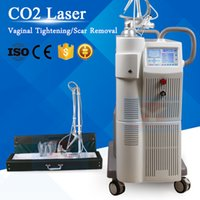 Wholesale co2 laser scar removal - Fractional CO2 Laser Skin Resurface Beauty Salon Equipment Laser Vaginal Treatment Scar Removal Skin Rejuvenation Wrinkle Removal Anti Aging