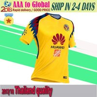 Wholesale Thai Wholesale Jersey - 18 19 Mexico Thai Quality Americas Shirts Adult Football Jersey soccer jersey