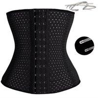 Wholesale Black Modeling - Waist trainer hot shapers waist trainer corset Slimming Belt Shaper body shaper slimming modeling strap Belt Slimming Corset