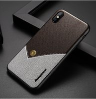 Wholesale Rear Light Covers - Luxury Ultra-thin Painted Phone Case For Iphone Samsung Huawei Rear Cover Stitching Texture Phone Case Free Shipping