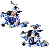 kits de tatuaje al por mayor-2017 Nueva Excelente Calidad Rotary Tattoo Machine Shader Profesional y Forro Surtidos Tatoo Motor Gun Kits Suministro
