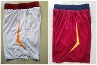 Wholesale Xxl Sweatpants - White Red 2018 Basketball Shorts Men's Shorts New Breathable Sweatpants Sportswear Basketball Pant size s-xxl