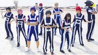 Wholesale Latex Female Suit - high school uniform Boku No Hero Academia My Hero Academia All Roles Gym Suit High School Uniform Sports Wear Outfit Anime Cosplay Costumes