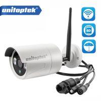 Wholesale wireless cctv 2mp - HD 720P 960P WIFI IP Camera 1080P 2MP Home CCTV Security Camera Wi-Fi Outdoor Onvif Wireless IP Cam TF Card Slot CamHi Viewing