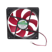 fans del servidor al por mayor-Ventilador para computadora 120 mm DC12V 0.2A 2.5 2pin Server inversor caja Axial Cooler Industrial Fan