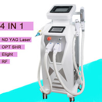Wholesale ipl hot - CE approved The most effective hot sale multifunctional beauty instrument Ipl shr hair removal ipl+elight+rf+nd yag laser 4 in 1