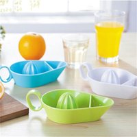 Wholesale manual lemon squeezers for sale - Group buy Fruits Juicer Manual Multi Function Squeezer With Comfortable Handle Lemon Juices Tool Liquidizer Plastic Safety Nutrition No Odor qj V