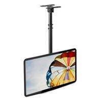 Wholesale Lcd Panel 15 - NBT560-15 TV Ceiling Mount 32-57 inch Flat Panel LED LCD TV Mount Height Adjustable Side Loading 68kgs Max. VESA 600*400mm