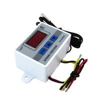 interruptor digital do termostato do controlador de temperatura venda por atacado-220 V 12 V 24 V Digital LED Controlador de Temperatura do Termostato Controlador de Temperatura 10A Sonda com sensor à prova d 'água W3002
