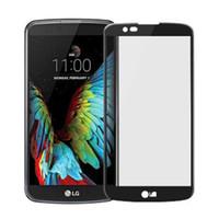 pelicula l9 al por mayor-9h cubierta completa de vidrio templado para Motorola MOTO E5 E5 más protector de pantalla para LG K10 2018 oppbag de vidrio templado