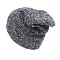 17a81eca32344 2018 Moda Unisex Cálido Invierno Knit Crochet Ski Mujeres Sombrero Cap  Turbante Turbante Gorro Femininashats para mujeres