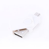 Wholesale smartphone reader resale online - Card Reader USB OTG TF SD Memory Card Reader Adapter High Quality Mbps Phone Extension Header Support PC Smartphone Universal