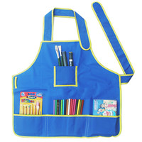 Multi Function Waterproof Kids Apron Painting Cooking Kids Child Children Apron Drawing Aprons Drop Shipping