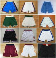 Wholesale Hot Men Sweatpants - HOT SALE 2018 New Season Men Running Basketball Shorts Tune Squad Shorts North Carolina Tar Heels Sweatpants Breathable Sport Pants