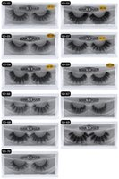 Wholesale Plastic Hand Model - Newest makeup 3D Mink eyelashes Thick real mink HAIR false eyelashes natural for Beauty Makeup Extension fake Eyelashes false lashes 5 Model