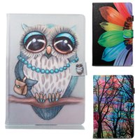 Wholesale cartoon tablets covers resale online - Cartoon Flip Cover Case for iPad Pro Air Mini kickstand Tablet PC Cases for Amazon New Fire HD8