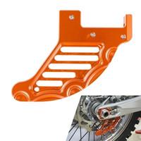 motorrad-bremsscheiben großhandel-CNC Aluminium Motorrad Hinten Bremsscheibe Schutzfolie Für KTM Husaberg Husqvarna 125-450