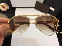 Wholesale step downs - New arrival luxury brand designer womens sunglasses men sun glass STEP DOWN LENS polit frame lunette de soleil high quality 2018