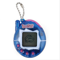 Wholesale hot funny games - 1 Tiny Pet Toy Game Hot Tamagotchi Nostalgic Pets Cyber in Virtual Toy Funny Tamagochi Random Color