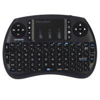 ingrosso chiave android tv box-Mini tastiera wireless iPazzPort con touchpad per Android TV Box Tastiera wireless MINI HTPC 92 tasti