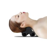 dolor de almohada al por mayor-Dispositivo de masaje de cuello caliente Dispositivo de alivio de rigidez del dolor de cuello Acupoints Almohada de masaje Cuerpo Parte posterior Dispositivo de masaje de piernas y pies
