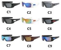 ein fahrrad großhandel-Männer Sport Sonnenbrillen Einteilige Fahrrad Fahrrad Brille Outdoor Sports Sonnenbrillen Brille Bike Eyewear 9 farbe LJJK985