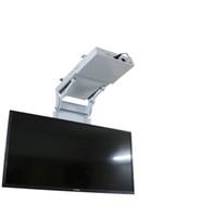 montaje para lcd tv al por mayor-2018 motorizado eléctrico oculto voltear hacia abajo falso techo Led lcd tv lift mount suspensión soporte función de control remoto 110v-250v