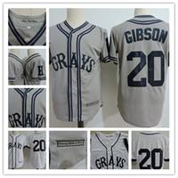Wholesale movie for sale - Mens Joshua Josh Gibson Veracruz Azules de Mexico Baseball Jerseys The Movie USA Negro Leagues NLBM Homestead Grays film Baseball Jersey