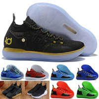 brand new f00e0 a277f 11 Basketball Shoes New Arrival KD Black Grey Persian Violet Chlorine Blue  Sneakers Kevin Durant 11s Mens Trainers Shoes wholesale