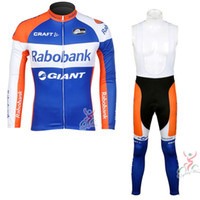 RABOBANK Mens Cycling Set Jersey Bib Pants Kits Bike Pad MTB Shirt Pants Bicycle  Clothing quick dry Team Racing bike clothing 111406Y 95da07e36