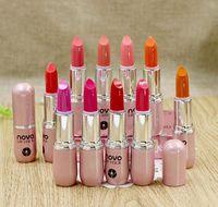 Wholesale small size lipstick for sale - NOVO Waterproof Matte Small Lipsticks High Quality Nutritious Lipstick Makeup